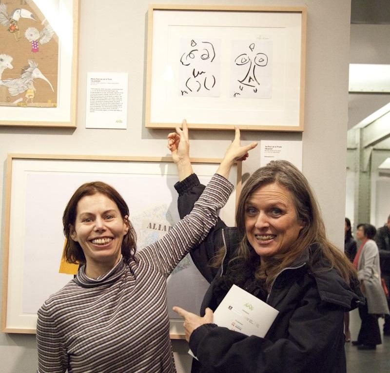 Isabel Ruiz de la Prada y Ouka Leele, en ALIADAS. | ANGELICA DASS